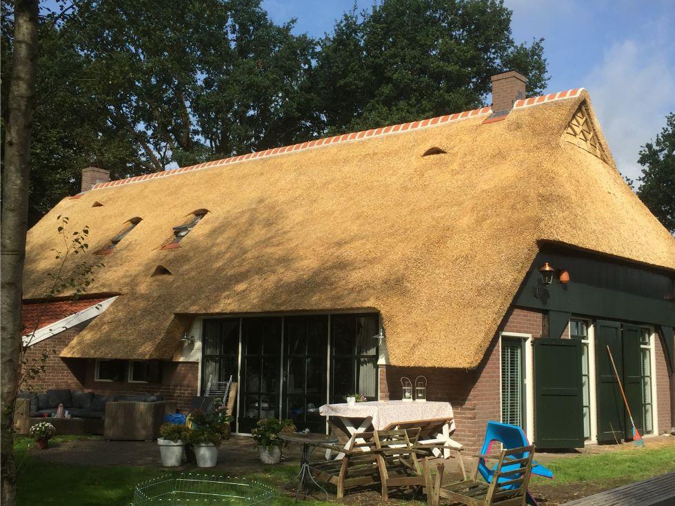Rieten dak vernieuwen