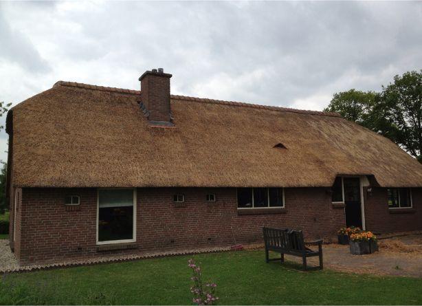 Rieten dak repareren